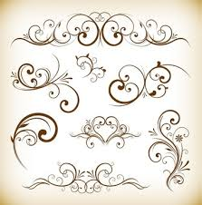 free modern typographic ornaments free vector 15 280 free