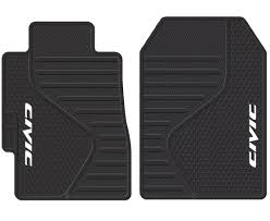 amazon com plasticolor 001409r01 u0027civic u0027 floor mat automotive