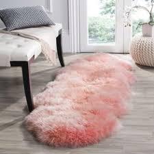tache 100 cotton chenille pink shag rug pink shag rug