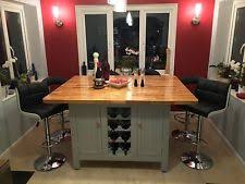 bespoke kitchen island handmade kitchen islands kitchen carts ebay