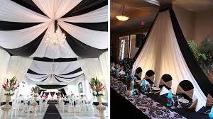 decoration mariage noir et blanc deco salle des fetes noir et blanc photographe mariage toulouse