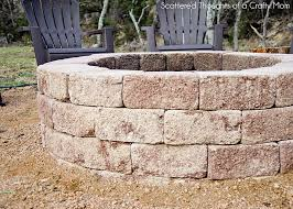 How To Build A Fire Pit In The Backyard by How To Build A Firepit For Your Outdoor Space Scattered Thoughts