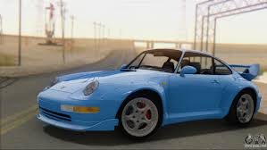 widebody porsche 993 porsche 911 gt2 993 1995 v1 0 sa plate for gta san andreas