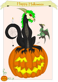 halloween dragons happy halloween dragon by gestaltwandler