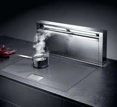plancha de cuisine plancha cuisine integree hotte de cuisine intacgrace au plan de