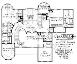 Foyer Plans Casa De Caserta House Plan House Plans By Garrell Associates Inc
