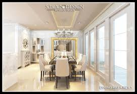 dining room by swan design swandesigninterior 03 dining area