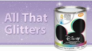 disney specialty finishes all that glitters apply over any