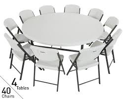 Lifetime Folding Chairs Lifetime Tables And Chairs Create Ideal Wedding Seating