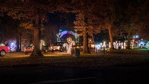 christmas light park near me christmas in noble park paducah photo news 247