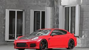 porsche panamera turbo red porsche panamera turbo by anderson germany