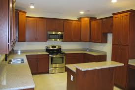 Granite Countertops With Cherry Cabinets Beautiful White Granite Countertops With Cherry Cabinets Exitallergy