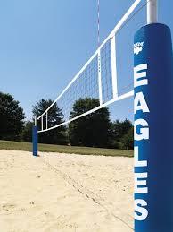 centerline elite sand volleyball system bison inc