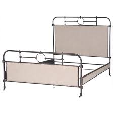 Steel King Bed Frame by 18th Century French Campaign Metal King Bed Frame Zin Home