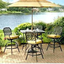 Bar Set Patio Furniture Bar Height Bistro Set Outdoor Outdoor Furniture Bar Sets Outdoor