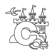letter c coloring pages coloringsuite com
