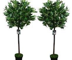 sleek ft artificial fiddle leaf tree artificial silk fake plants
