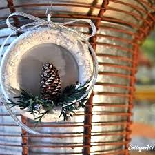 ornaments made from wooden curtain rings hometalk