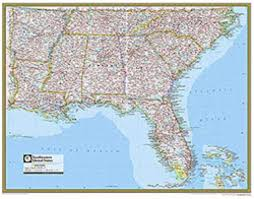 road map of southeast us interactive map of southeast united states justinhubbard me