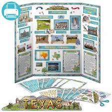 texas state report kit homeschool and social studies