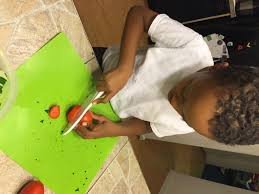 3 easy ways to get your young child to want to do their chores when my son received his own curious chef s knife measuring cups and other utensils he was super excited about helping out during dinner