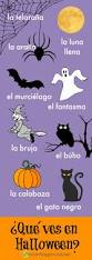 Halloween Songs And Poems Spanish Halloween Resources For Kids Spanish Playground