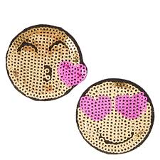 friends emoji best friends love emoji sequin pins claire u0027s us