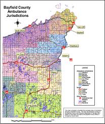 Wisconsin County Maps by Bayfield County Wi Official Website