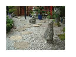 the japanese rock gardens or