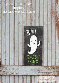 boo u201d ghost crossing halloween sign
