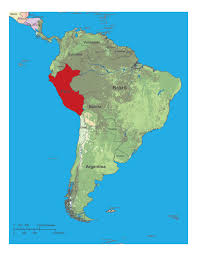 Columbia South America Map Peru South America Map Grahamdennis Me