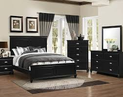 Bed Sets Black Black Bedroom Set In Modern Designs And Styles Home Design Studio
