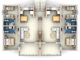 Granny Unit Plans Download Three Bedroom Flat Floor Plan Home Intercine 2 House
