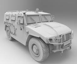 gaz tigr interior 3d model russian military vehicles gaz tiger cgtrader