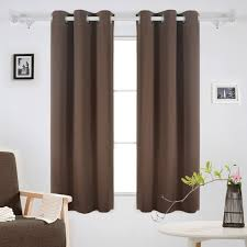 Light Block Curtains Insulated Blackout Grommet Window Curtain Panels Ease Bedding