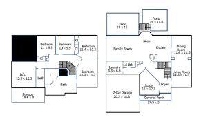 floor plans with measurements floor plans archives house measurements