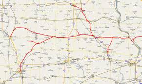 Union Pacific Railroad Map Iowa Railroads Scanner Frequencies And Radio Frequency Reference