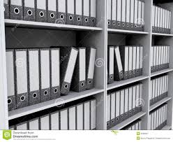 files on bookshelves royalty free stock photography image 6299947