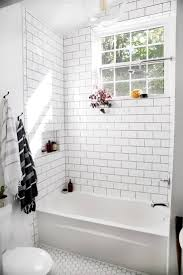 Cream Subway Tile Backsplash by Marble Tile Backsplash Tumbled Marble Backsplash Completed Today
