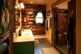 cabin bathrooms ideas bathroom lovely inspiring log cabin bathroom ideas home