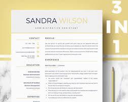 modern resume styles modern resume etsy