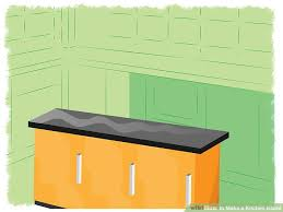 how to make a kitchen island 4 ways to make a kitchen island wikihow
