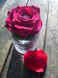 Fleurs Pour Fete Des Meres Cadeau Fête Des Grands Mères Rose Stabilisée Fleurs Bouquet
