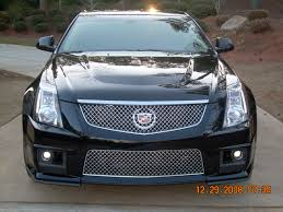 cadillac cts v grill 2009 cadillac cts v laser jammer placement advice needed