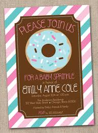 ink obsession designs new donut baby sprinkle u0026 birthday party