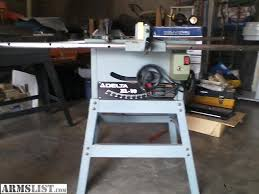 Table Saw Dust Collection by Armslist For Sale Delta Table Saw And Delta Dust Collector