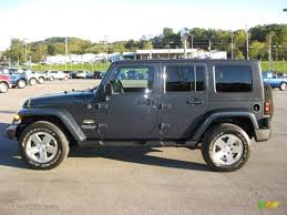 jeep wrangler unlimited grey 2008 steel blue metallic jeep wrangler unlimited sahara 4x4