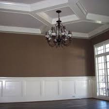Wainscoting Dining Room Ideas 49 Best Dining Room Images On Pinterest Coffered Ceilings