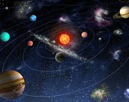 solar system space wallpaper mural kool rooms for kool kids