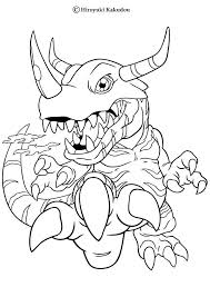 greymon coloring pages hellokids
